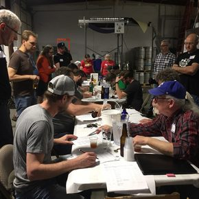 Big Brew Day Brew-Off Judging