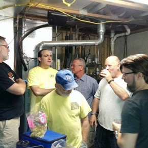 Dwight's Beer Social Brew Day
