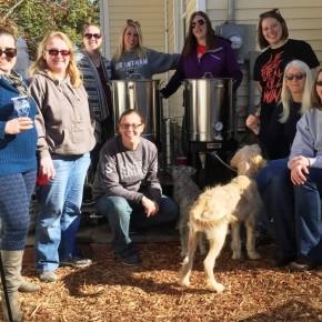 LBG Women Brew Day