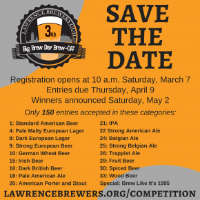 Brew-Off Entry Registration Open